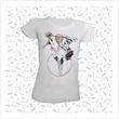 T-shirt Donna serie #OrdinaryHeroes  con immagine di Superpope  Casa, giochi e gadget