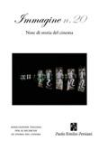 Immagine. Note di storia del cinema. Vol. 20: Libro di