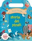 Scrivi la tua storia dei pirati. Con adesivi. Ediz. illustrata Libro di