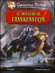 Il mistero di Frankenstein di Mary Shelley Libro di  Geronimo Stilton