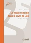 La justice sociale dans le Livre de Job. Analyse dramatique Libro di  Conrad Aurélien Folifack Dongmo