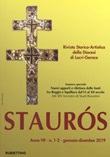 Staurós. Rivista storico-artistica della diocesi di Locri-Gerace (2019). Vol. 1-2: Libro di