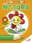 Colora & gioca con la natura. Ediz. illustrata Libro di