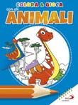Colora & gioca con gli animali. Ediz. illustrata Libro di