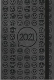 Agendina Shalom settimanale 2021 nera Cartoleria
