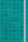 Agendina Shalom settimanale 2021 turchese Cartoleria
