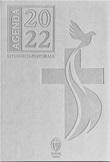 Agenda Liturgico Pastorale Shalom 2022 - Copertina in ecopelle - Colore grigio chiaro Cartoleria