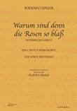 Warum sind denn die Rosen so blaß. Trascrizione per canto e pianoforte. Ediz. italiana e inglese Libro di  Rodolfo Lipizer