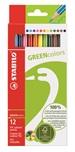Pastelli in legno colori assortiti (STABILO GREENcolors)