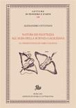 Natura ed esattezza all'alba della scienza galileiana. Le «Observationes» di Fabio Colonna Ebook di  Alessandro Ottaviani