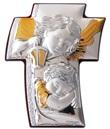 Icona croce argento Angeli