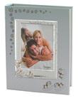Album portafoto con cornice argento cavalli dondolo azzurro Festività, ricorrenze, occasioni speciali