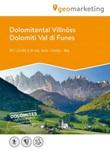 Dolomiti Val di Funes. Carta escursionistica 1:25.000. Ediz. italiana, inglese e tedesca Libro di