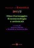 Dino Formaggio. Fenomenologia e artisticità Libro di