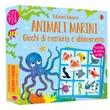 Animali marini. Giochi di memoria e abbinamento. Ediz. a colori. Con 36 Carte Libro di  Kate Nolan