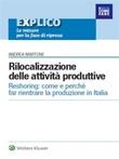 Rilocalizzazione delle attività produttive Ebook di  Andrea Martone